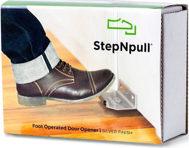 Stepnpull Foot Operated Door Opener Packaging