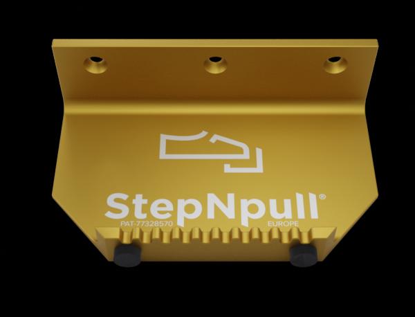stepnpull the foot handle and hands free door opener golden branded product image