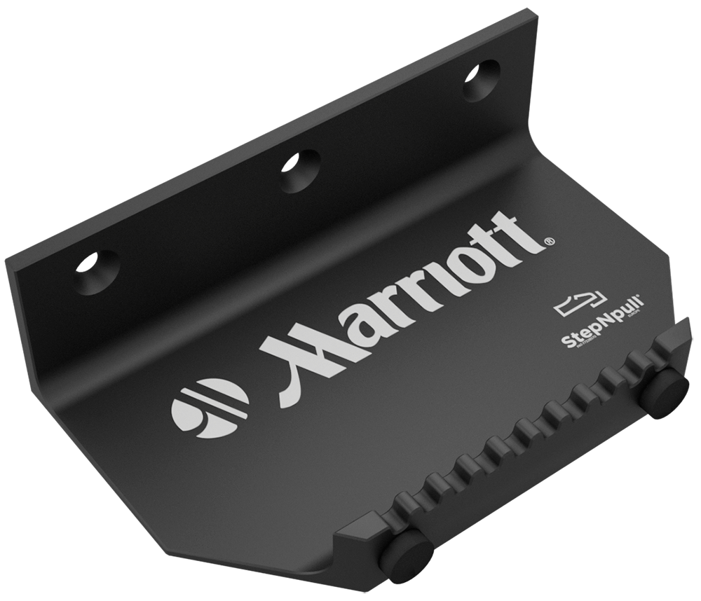 stepnpull the foot handle and hands free door opener marriott hotels branded product image