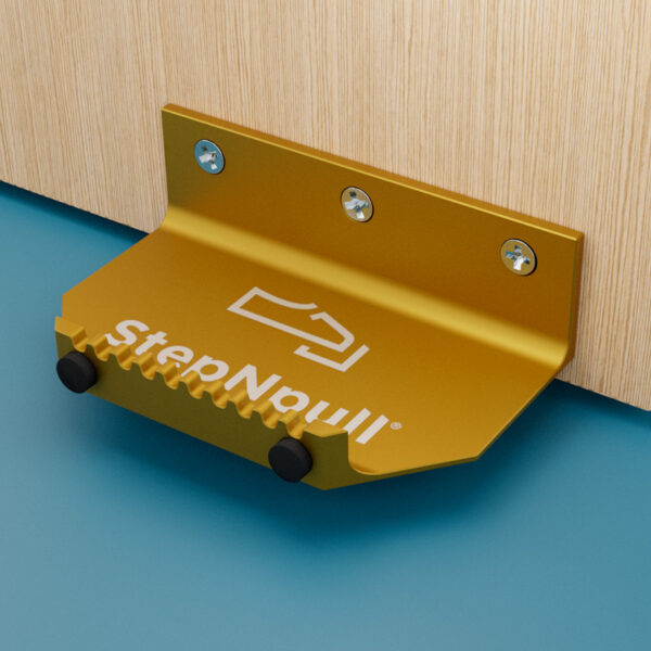 stepnpull the foot handle gold product image for standard doors